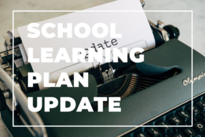Learning Plan Update