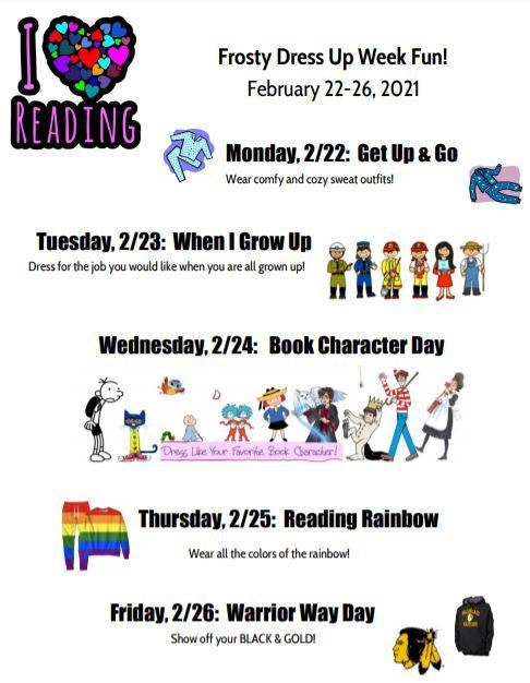 Frosty Dress Up Week
