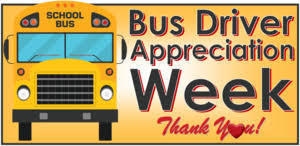 Bus Driver Appreciation Week