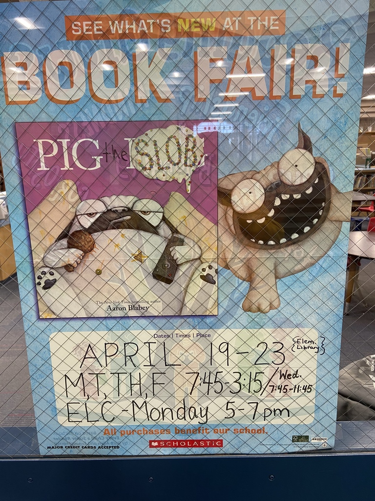 Book Fair Dates & Times