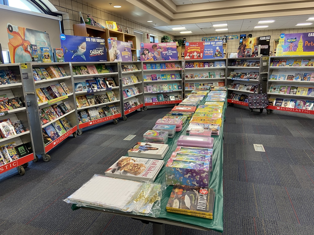 Book Fair Display