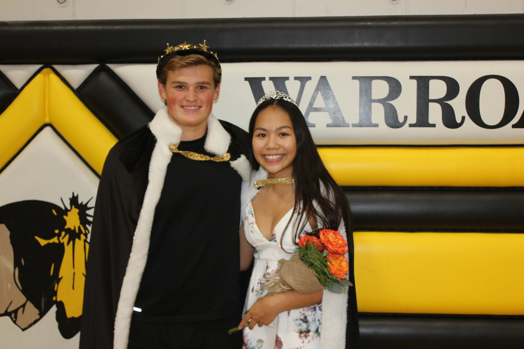 Prince Lincoln and Princess Savannah