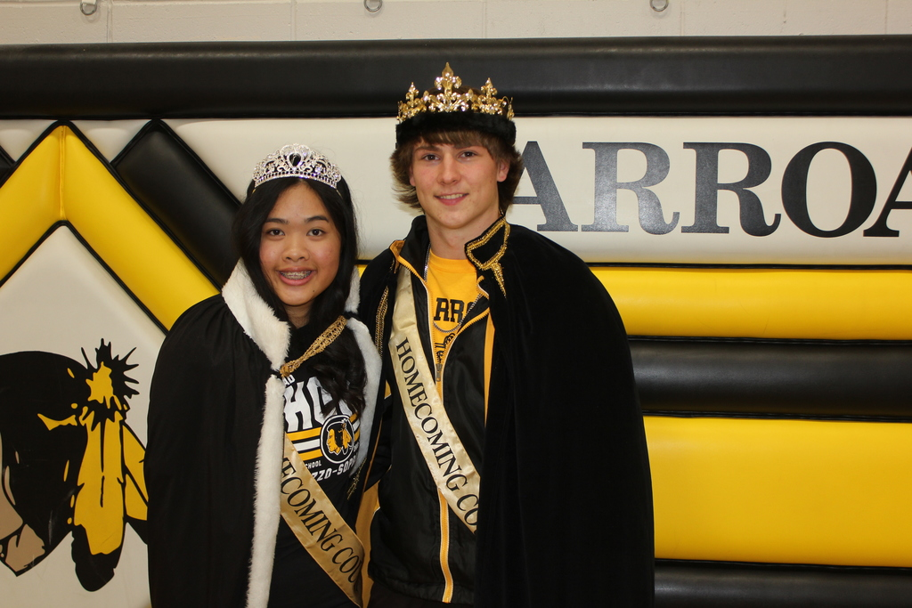 King Jeremy and Queen Karen