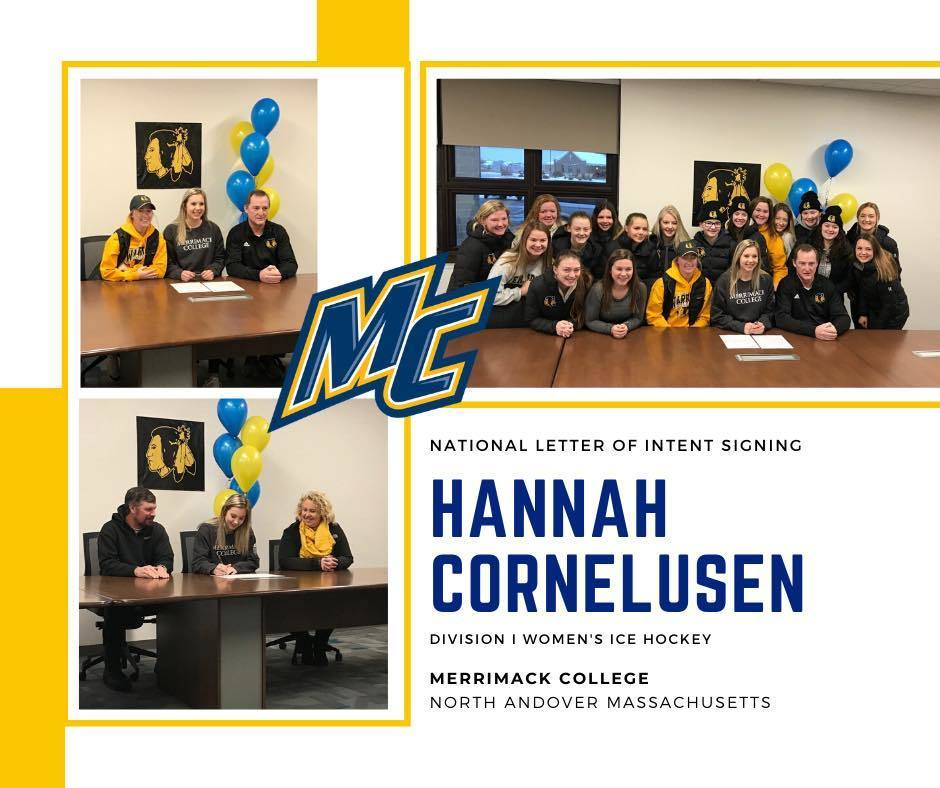 Hannah C letter of intent