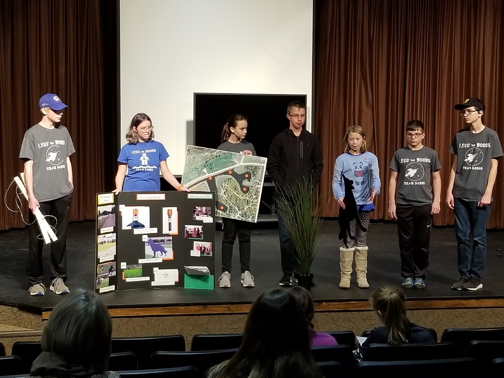 lego league presenting
