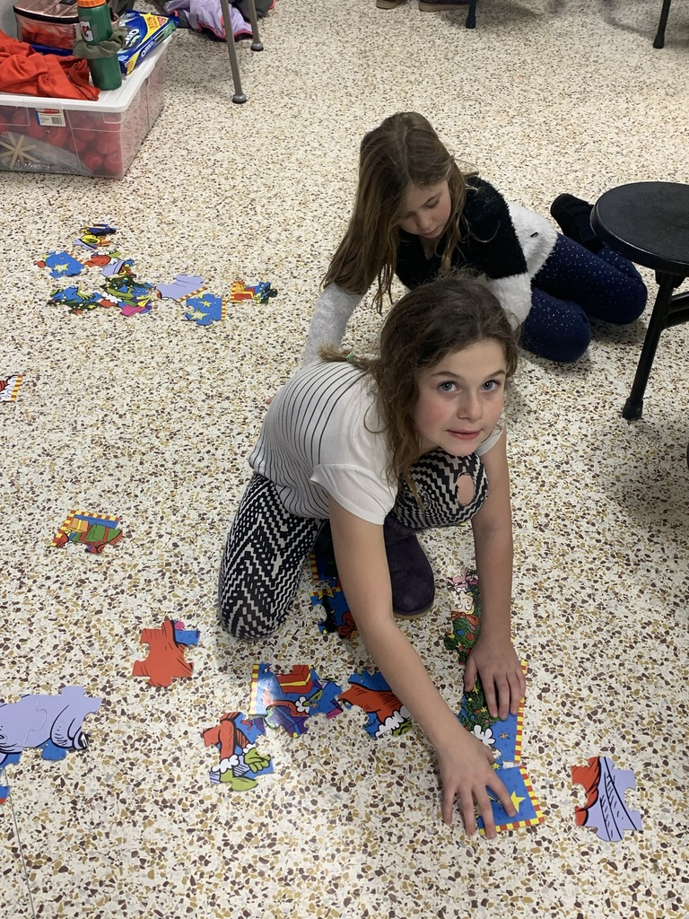 Puzzle fun at ECFE