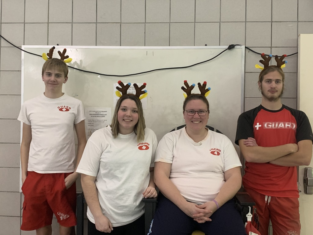 Festive Lifeguards