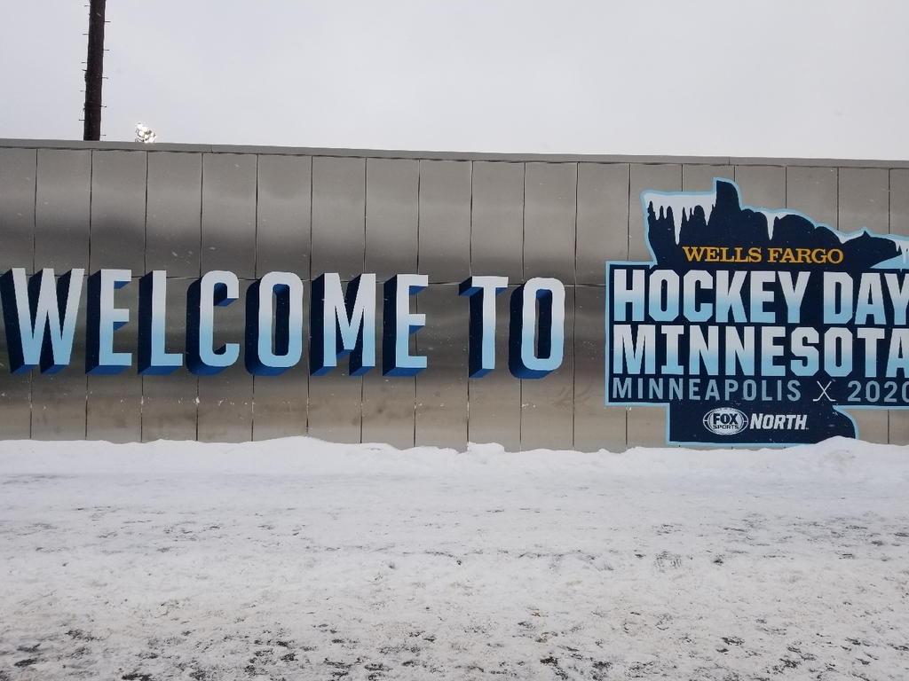 hockey day sign