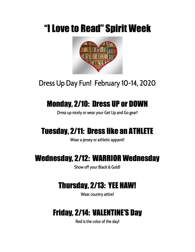 Dress Up Day Descriptions