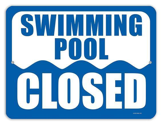 Swimming Pool Closure