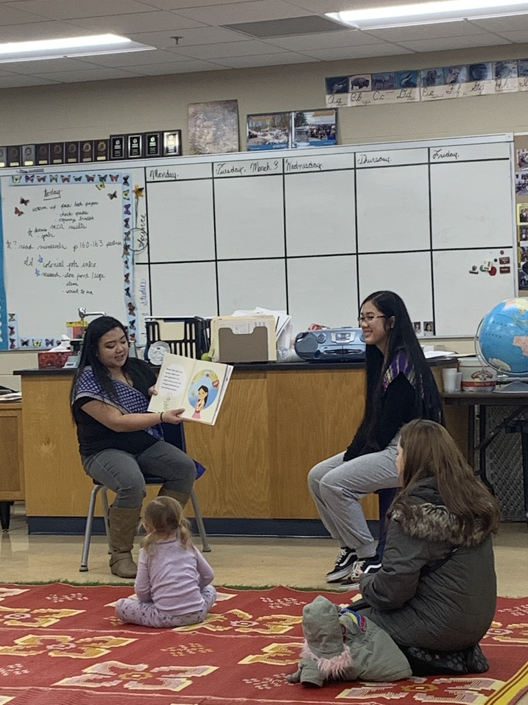 Thank you to the Millenial Lao Association for participating in Read Across America!